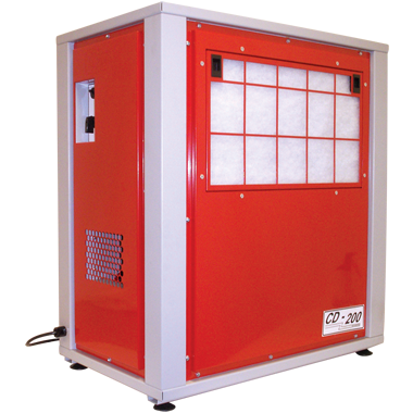 Photo of Red EIPL CD200 dehumidifier