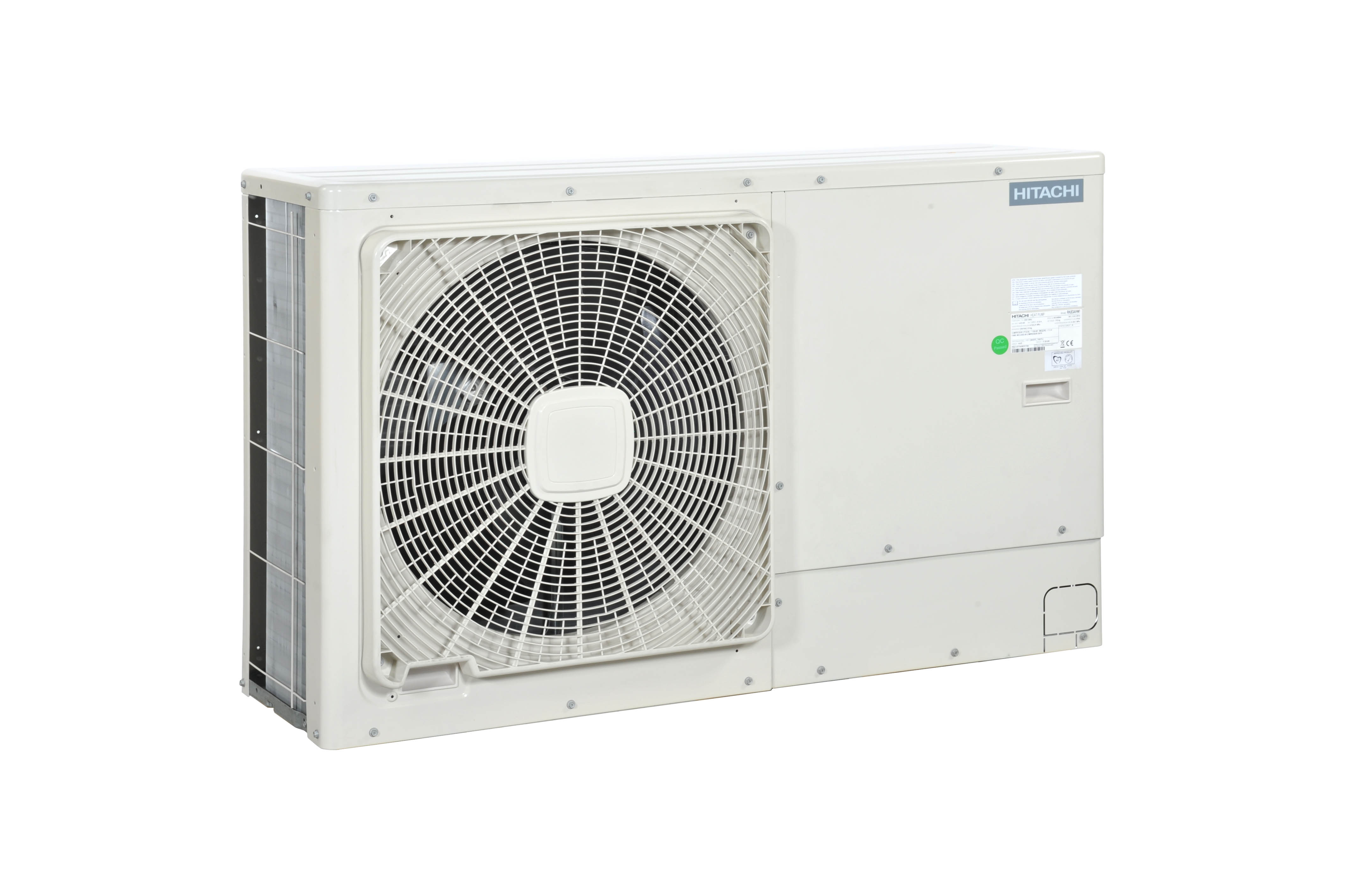 Monobloc air to water heat pumps in Lancashire the UK and