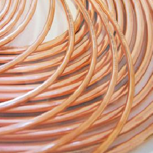Photo of N/A Copper Coil 1/4 inch OD 22SWG 30M