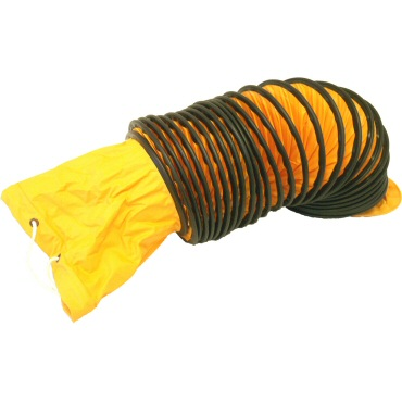 Photo of Yellow Ebac PV200 Ducting 200mm (8inch)
