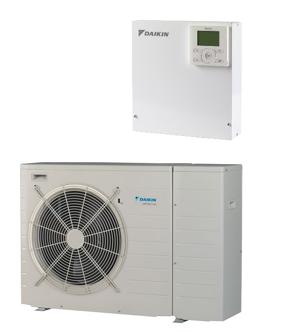 Daikin Altherma EDLQ07CV3 Low Temperature Monobloc including Wiring Centre  and user interface